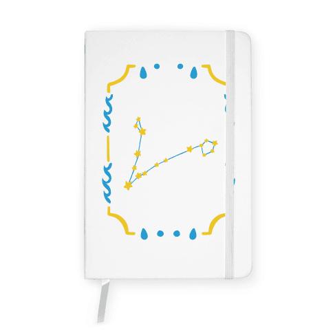 Pisces Star Card Notebook