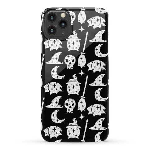 Sparkle Witch Pattern Phone Case