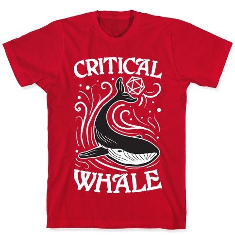 Critical Whale T-Shirt
