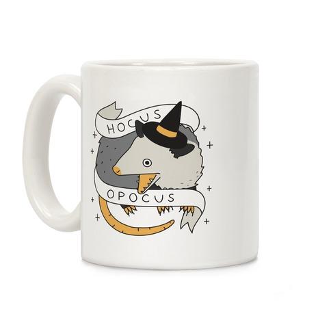 Hocus Opocus Opossum Coffee Mug