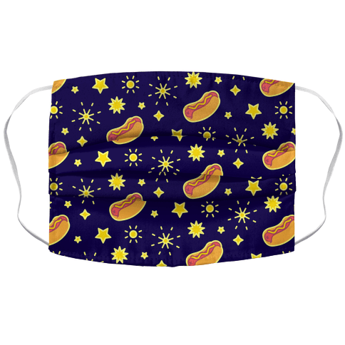 Star Spangled Weenies Face Mask