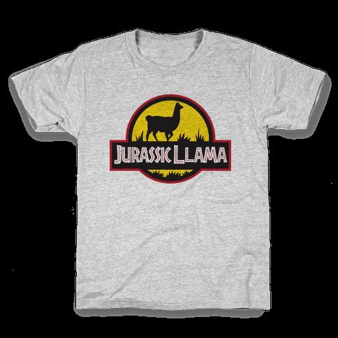 Jurassic Llama Kids T-Shirt