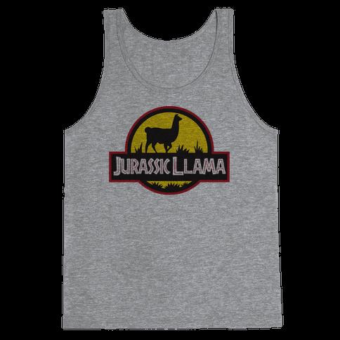 Jurassic Llama Tank Top