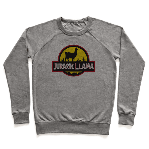 Jurassic Llama Pullover