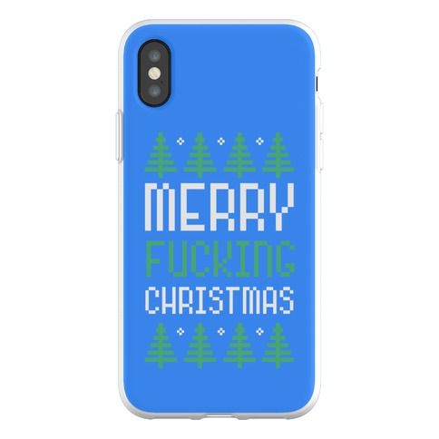 Merry F***ing Christmas Phone Flexi-Case