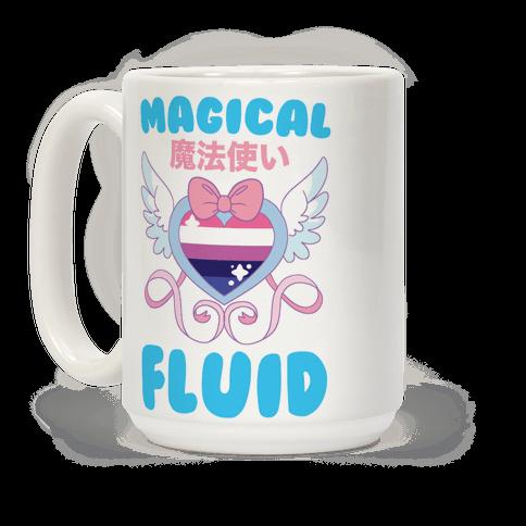 Magical Fluid - Genderfluid Coffee Mug