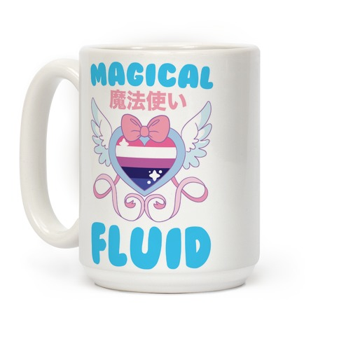 Magical Fluid - Trans Pride Coffee Mug