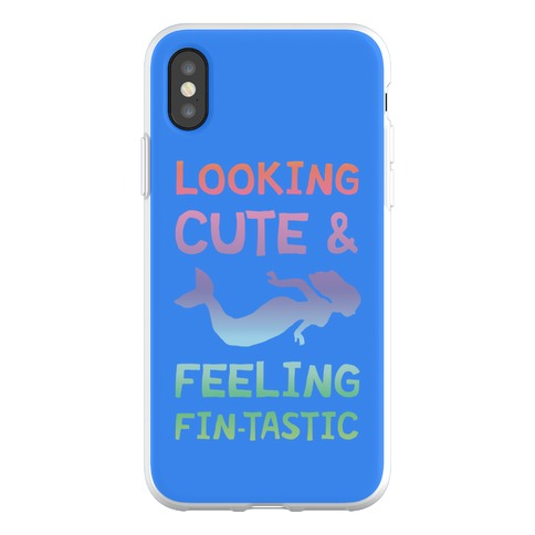 Looking Cute And Feeling Fin-tastic Phone Flexi-Case