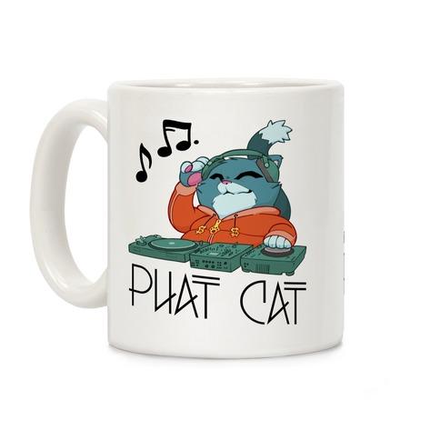 Phat Cat Coffee Mug