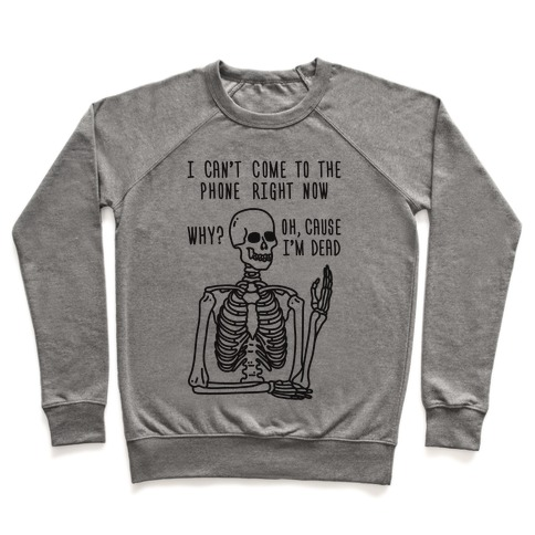Look What You Made Me Do Skeleton Parody Pullover