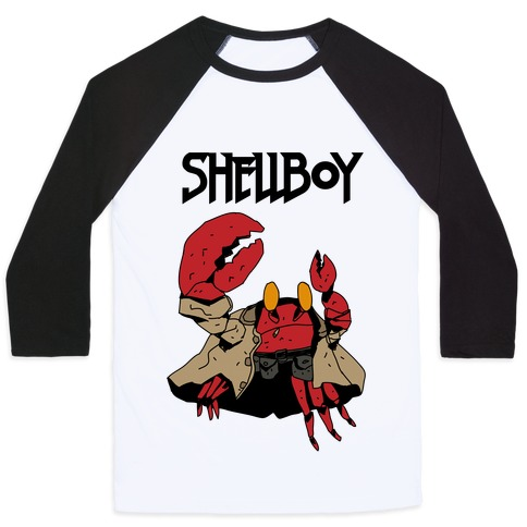Shell Boy Baseball Tee