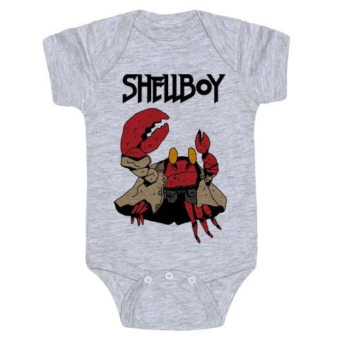 Shell Boy Baby Onesy