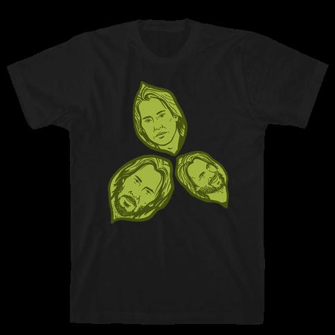 Keanu Leaves Mens/Unisex T-Shirt