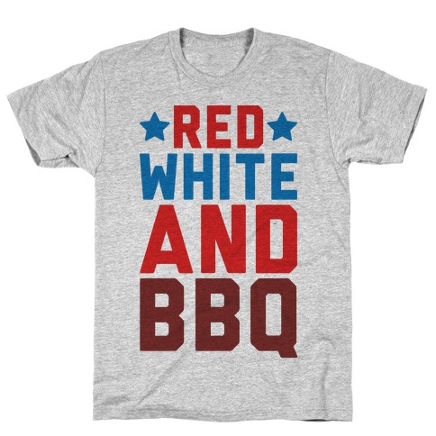 Red White And BBQ T-Shirt