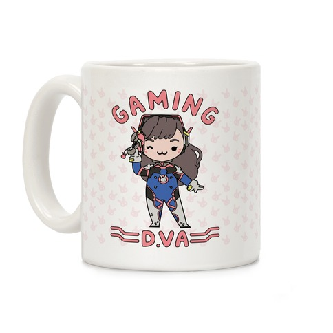 Gaming D.Va Coffee Mug