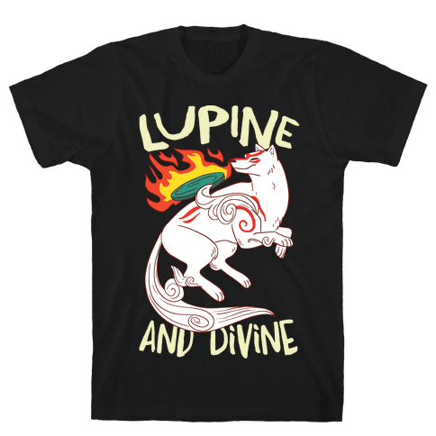 Lupine and Divine  Mens T-Shirt