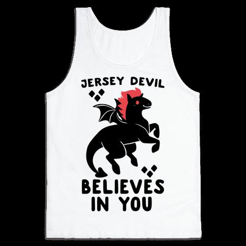 Jersey Devil Believes In You Tank Top