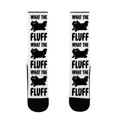 What the Fluff Sock