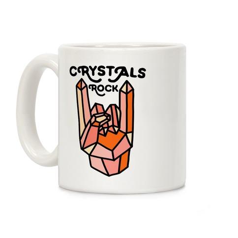 Crystals Rock Coffee Mug