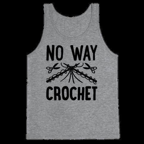 No Way Crochet Tank Top