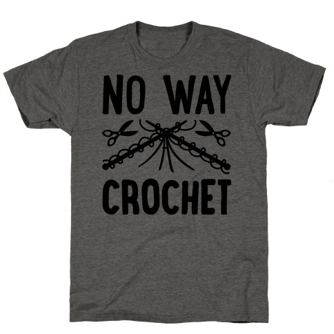 No Way Crochet T-Shirt