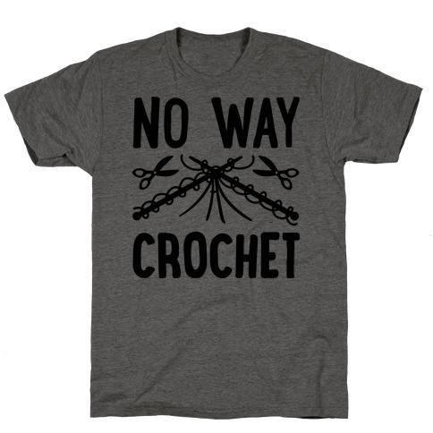 No Way Crochet T-Shirt