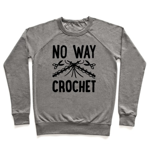 No Way Crochet Pullover