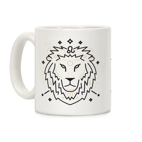 Astrology Leo Lion Coffee Mug