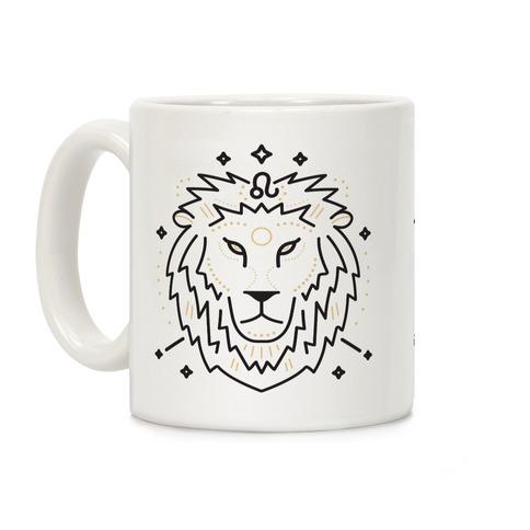 Astrology Leo Lion Coffee Mug