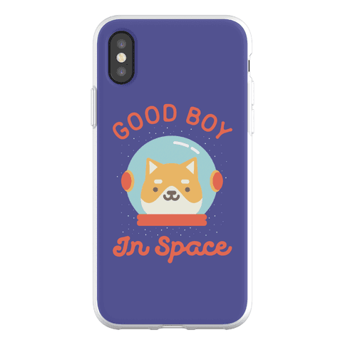 Good Boy In Space Phone Flexi-Case
