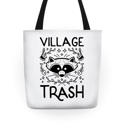 Village Trash Tote