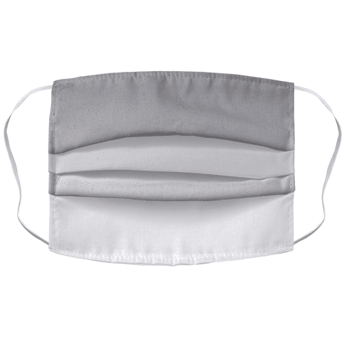 Grayscale Light Face Mask