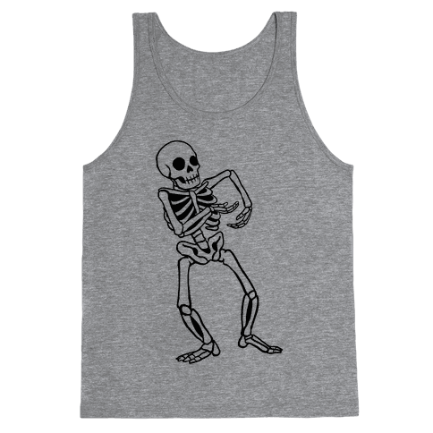 Milly Rocking Skeleton Tank Top