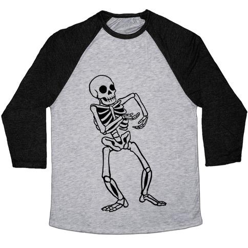 Milly Rocking Skeleton Baseball Tee