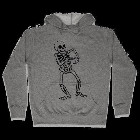 Milly Rocking Skeleton Hooded Sweatshirt