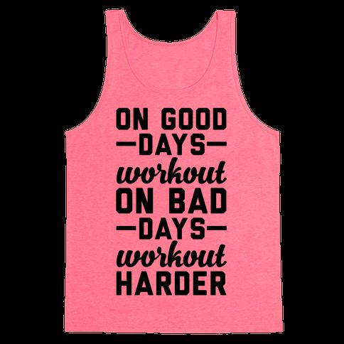 On Good Days Workout Tank Top