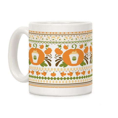 Ugly Pumpkin Spice Sweater Coffee Mug