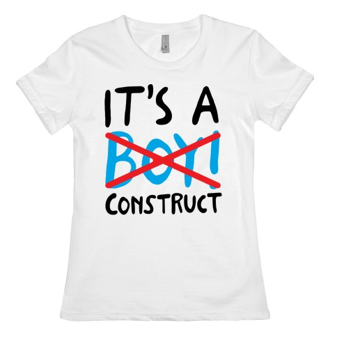 It's A Construct Boy Parody Womens T-Shirt