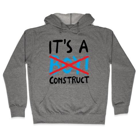 It's A Construct Boy Parody Hooded Sweatshirt