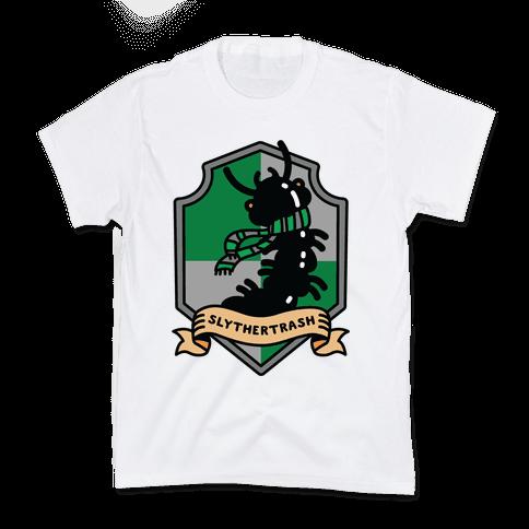 Slythertrash Centipede Kids T-Shirt