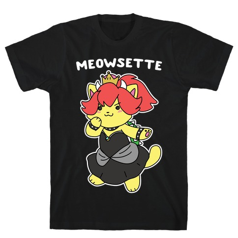 Meowsette Mens T-Shirt