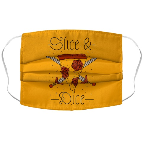 Slice & Dice  Accordion Face Mask
