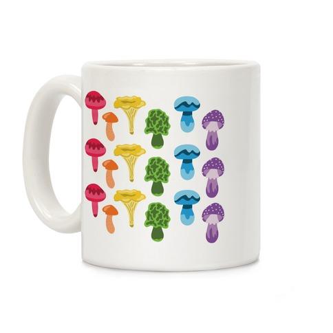 Gay Mushroom Pattern Coffee Mug