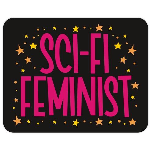 Sci-Fi Feminist Die Cut Sticker