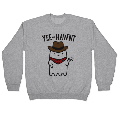 Yee-Hawnt Cowboy Ghost Pullover