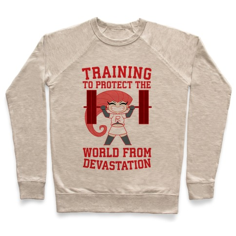 Training To Protect Our World From Devastation Pullover