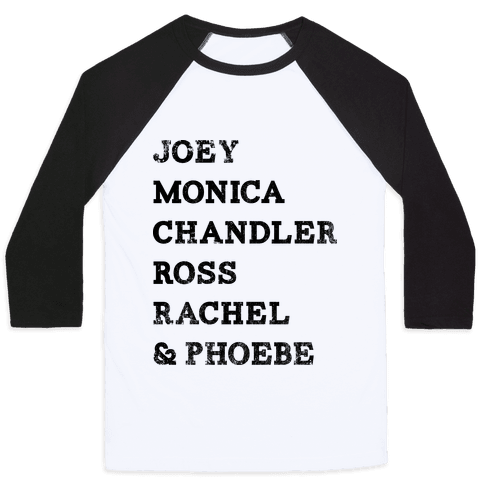 The Friends (Vintage) Baseball Tee