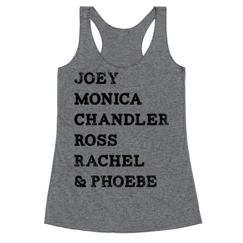 The Friends (Vintage) Racerback Tank Top