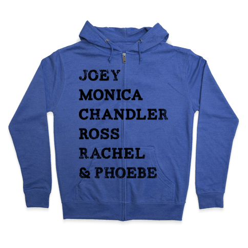 The Friends (Vintage) Zip Hoodie