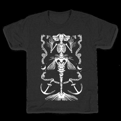Dead Mermaid Kids T-Shirt